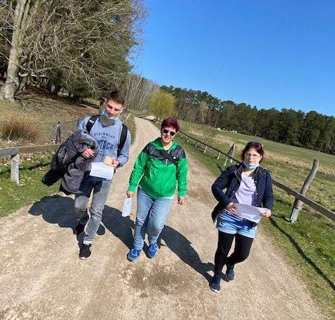 unterwegs im Wildpark Schorfheide